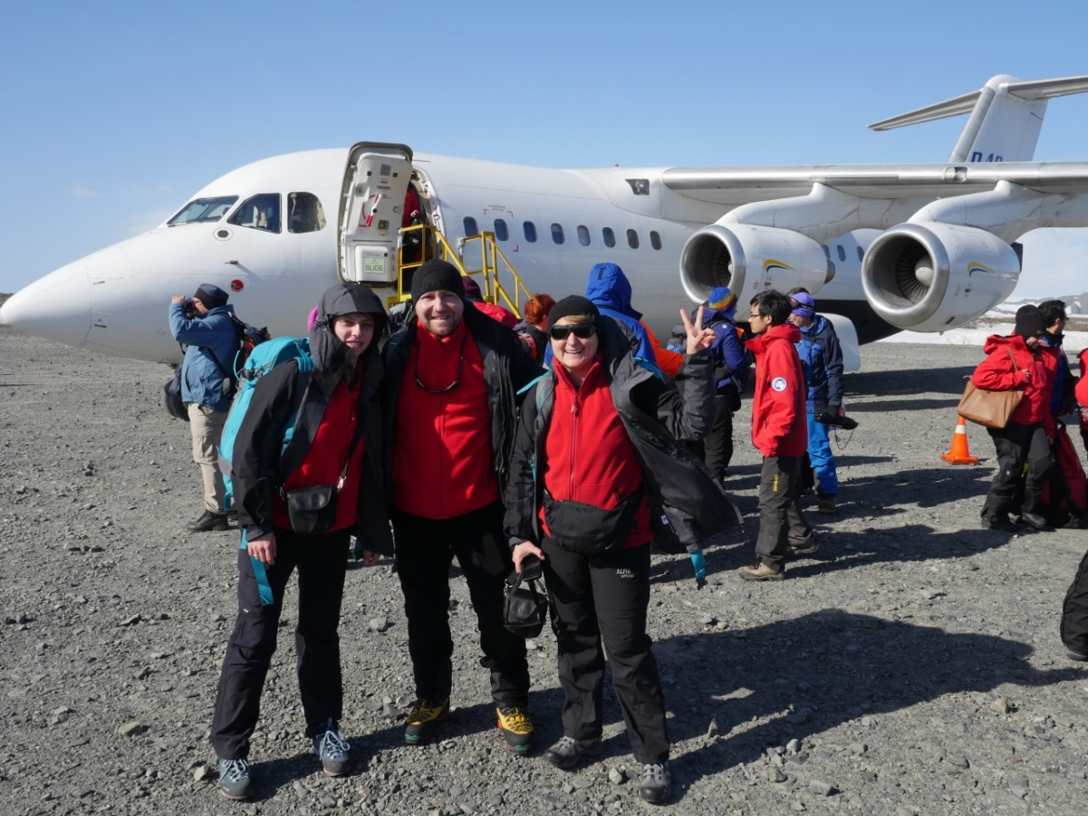 ROICE team departure from Punta Arenas to Antarctica